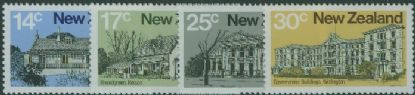 NZ SG1217-20 Architecture (2nd series) set of 4